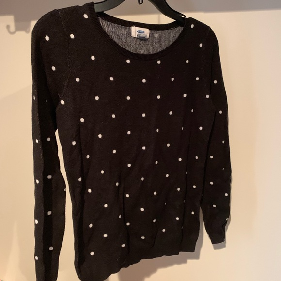 Old Navy Sweaters - Polka dot sweater